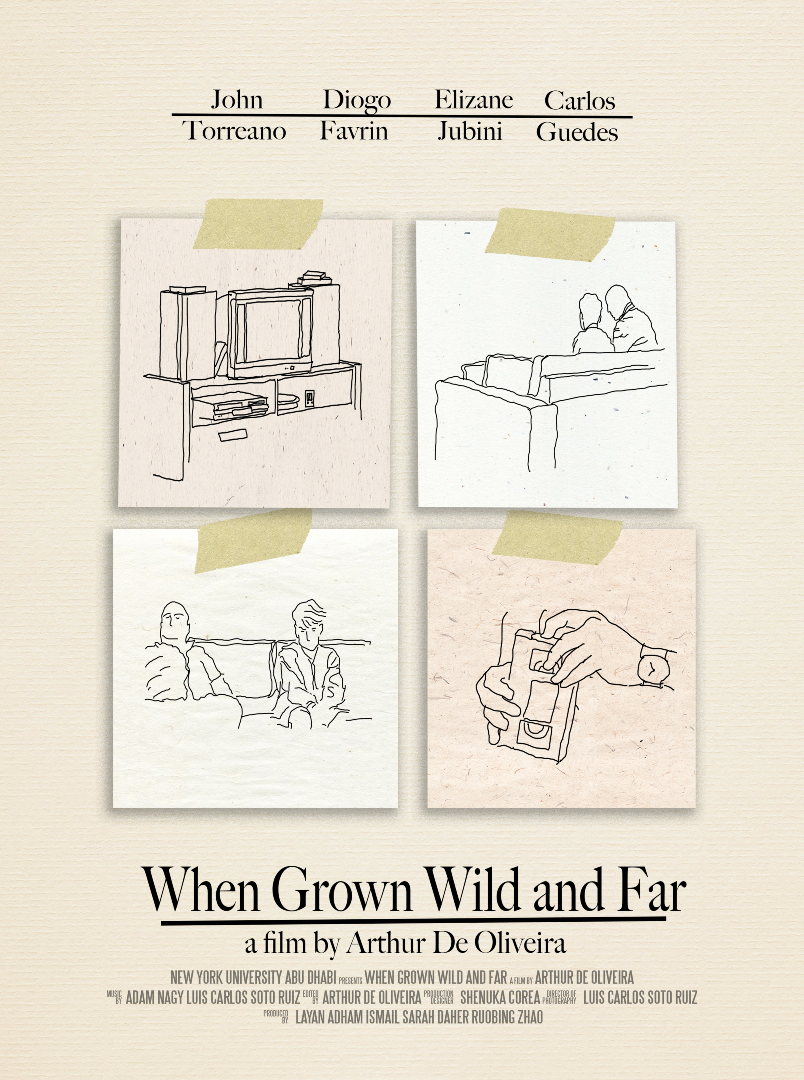 When Grown Wild and Far (2019) - Producer